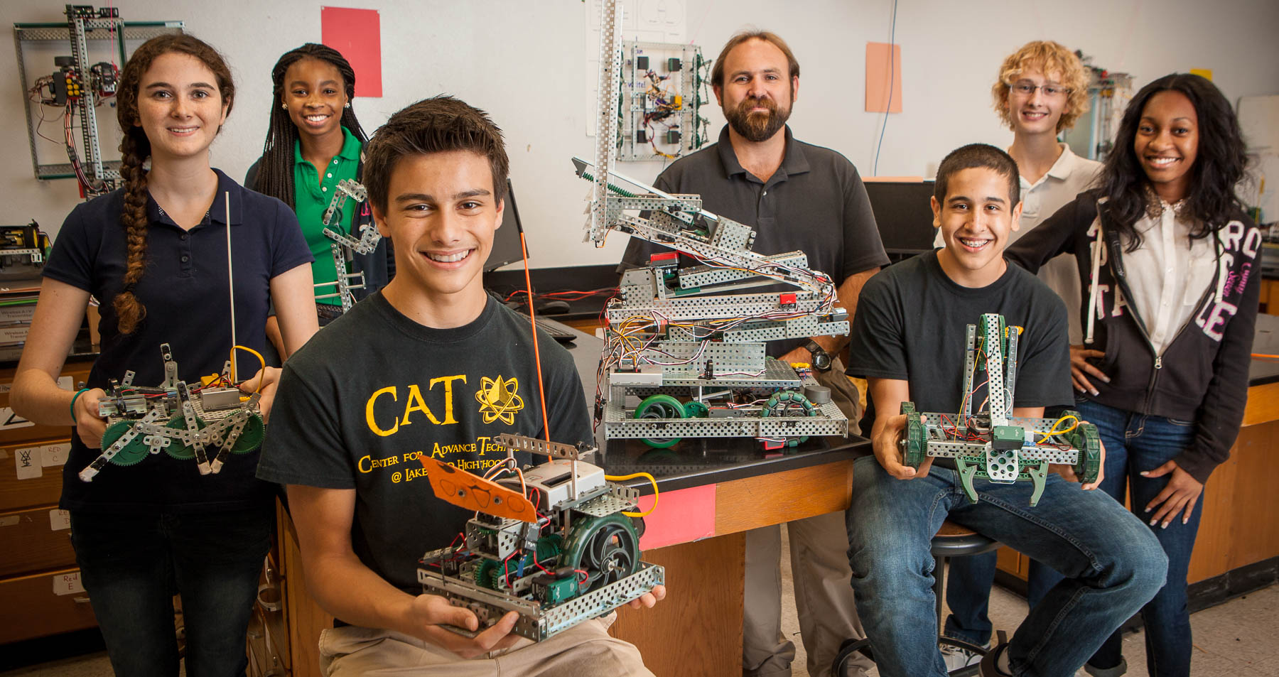 Saint Pete Chamber - Lakewood High CAT Program - Robotics