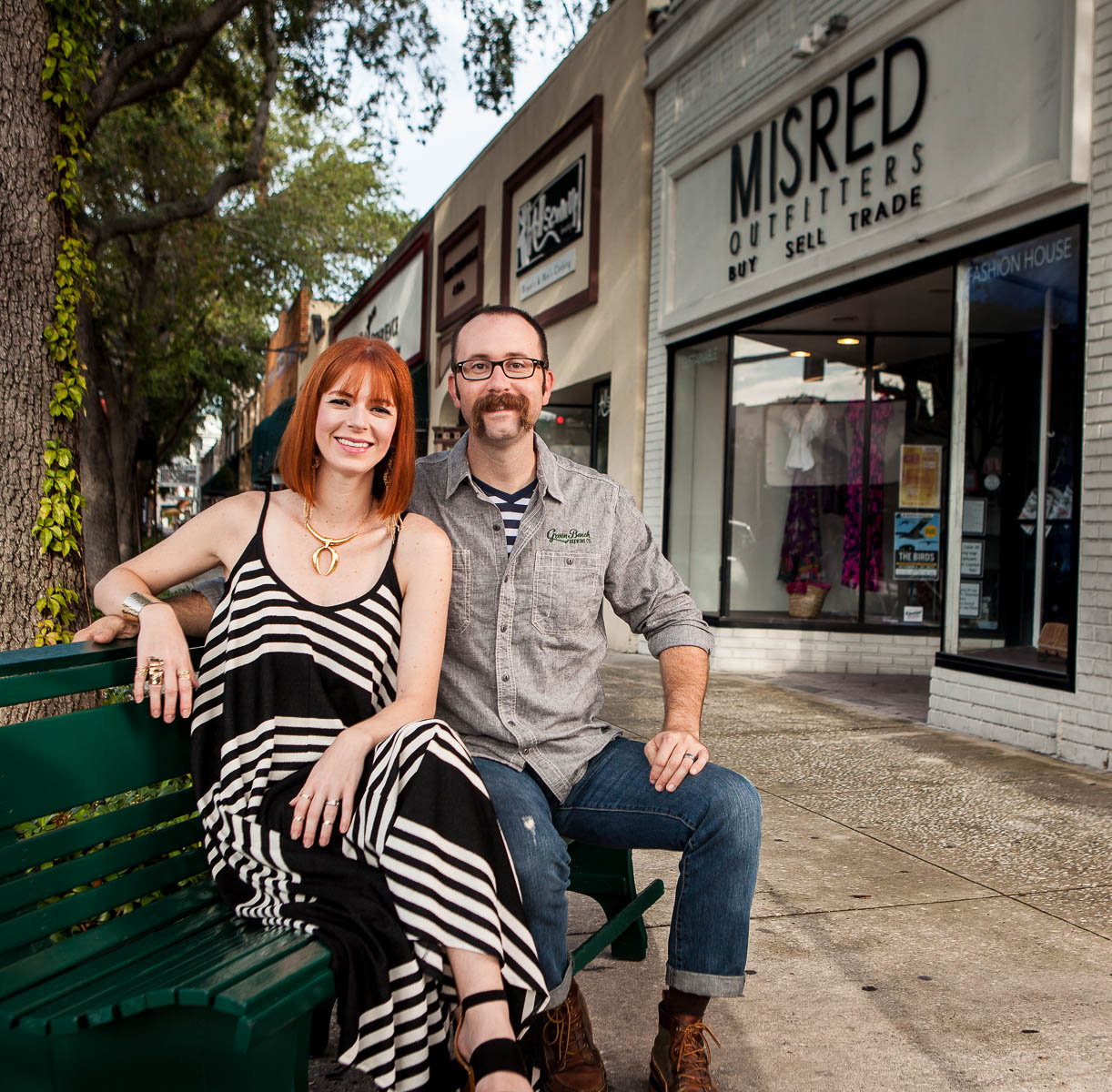 Sara and Nathan Stonecipher of MisRed and Green Bench Brewing