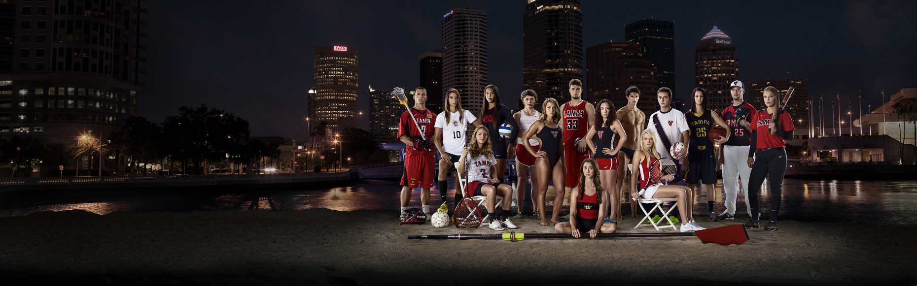 Captains of University of Tampa athletic teams 2015